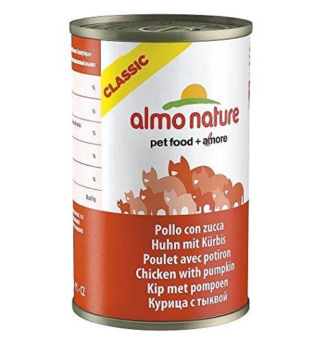 Umido Gatto Almo Nature Classic 140gr, Pollo con Zucca