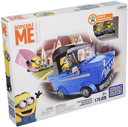 Mega Bloks - Travesura en coche, juego de construcción (Mattel DKT69)