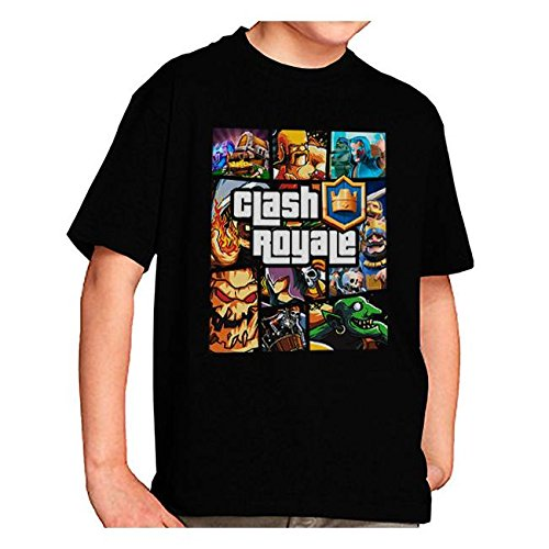 Clash Royale T-shirt GTA Style Characters (9-10-11 years)
