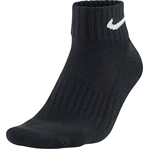 Nike One Quarter Socks 3PPK Value Black/White