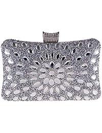 65663297cf855 FANG1106 Damen Clutch Abend Handtasche Geldbörse Damen Kleid Damen Clutch  Bag Handtasche Kristall Clutch Bag Hochzeit Braut Clutch…