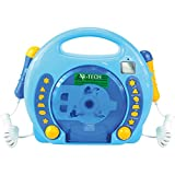 701480 - Karaoke CD Player MP3 2 Mikros Junge, blau