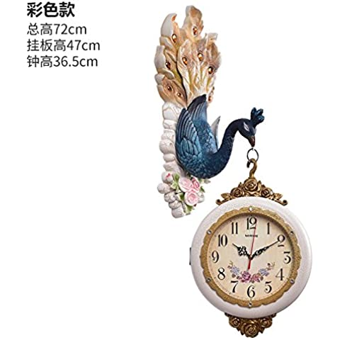 CLG-FLY moda moderna retro simple Creative Arts Europa y el salón del Reloj de pared#26
