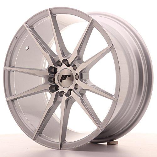 Japan Racing Jr21 Silver 8.5x18 ET40 5x112/114 Llantas de aleación