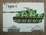 LEotiE SINCE 2004 Tablet Schutz Hülle Passend für iPad Air 2 Waffe Panzer Tiger I