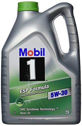 Mobil 1 40112 ESP Formula 5W-30 5 Liter plus 1 Liter