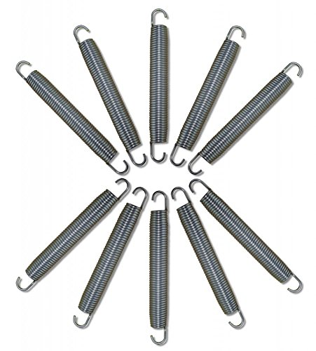Gigajump®, 10 Stück Trampolin Ersatzfedern 140 mm (#301085)