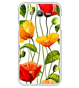 Printvisa Flower Wallpaper 2D Hard Polycarbonate Designer Back Case Cover For Samsung Galaxy On5 (2015) :: Samsung On 5