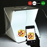 Le portable photo studio lightbox est idéal pour la photographie de catalogue, la photographie de vente aux enchères en ligne et la photographie de produits, vous permettant de créer votre propre studio d'éclairage portable.  Caractéristiques   Rapi...
