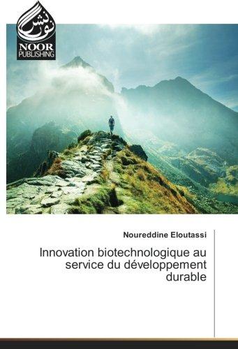 Innovation biotechnologique au service du développement durable