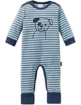 Schiesser Jungen Zweiteiliger Schlafanzug Cool Dogs Baby Anzug mit Vario Fuß