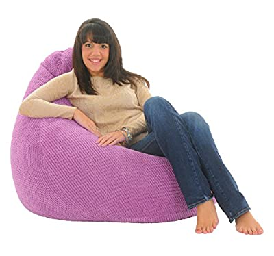 ADULT HIGHBACK - Soft & Snugly Designer Chair Bean Bag Gaming Beanbag Seat lounger