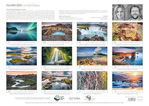 Island Exklusivkalender 2020 (Limited Edition): Alle Infos bei Amazon