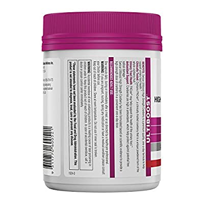 Swisse - Ultiboost High Strength Cranberry Urinary Tract Supplement 25000 mg. - 100 Capsules