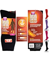 Heat Holders Damen Thermo Socken, Pink, EU 37-42 / UK 4-8
