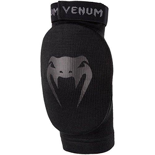 Venum Kontact Ellbogenschoner MMA Schutz Martial Art Schwarz/Schwarz, einzigartige Größe