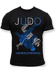 Dirty Ray Arts Martiaux Judo t-shirt homme K20C