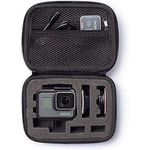 AmazonBasics - Estuche de transporte para GoPro - Extra-pequeño