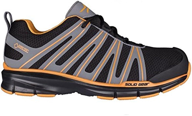 Solid Gear sg8011147 Triumph GTX – Zapatos de seguridad S3 talla 47 NEGRO/GRIS/naranja