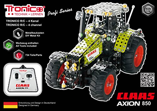 RC Traktor CLAAS AXION 850 Baukasten - 5