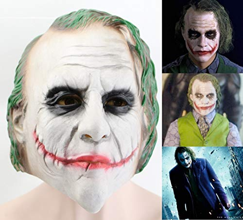 Butler Halloween Kostüm - DUHLi Latex Joker Clown Maske Kostüm