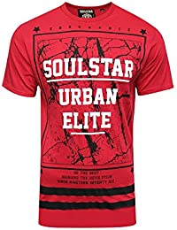 SoulStar - T-shirt - Homme rouge Red