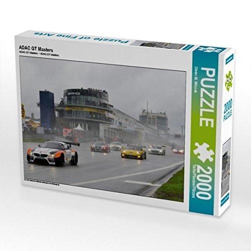 ADAC GT Masters 2000 Teile Puzzle quer (CALVENDO Sport)