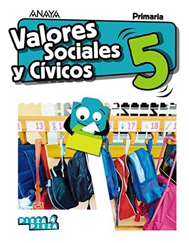 Valores Sociales y Cívicos 5 (Pieza a Pieza)