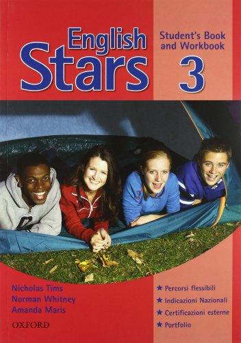 English stars. Level 3. Student's pack: Student's book-Workbook-Extra book. Per la Scuola media. Con Multi-ROM