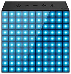 Divoom Aurabox Bluetooth Speakers with LED and Mic (Black)