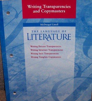Language of Literature Grade 10: Writing Transparencies and Copymasters Grade 9 (Mcdougal Littell Language of Literature)