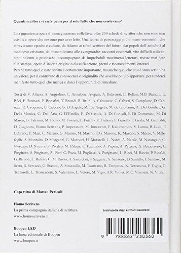 Zoom IMG-1 enciclopedia degli scrittori inesistenti