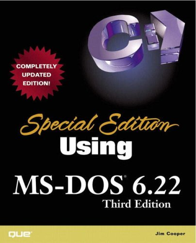 Using MS-DOS 6.22: Special Edition (Special Edition Using)