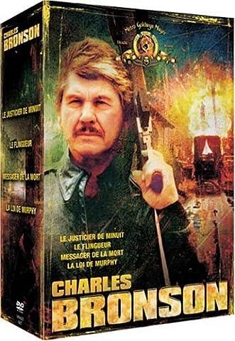 Coffret Charles Bronson 4 DVD : Le Justicier de minuit / Le Flingueur / Le Messager de la mort / La Loi de Murphy