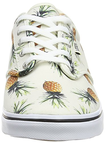 Vans Damen Atwood Low Sneakers Elfenbein (Pineapple off white)