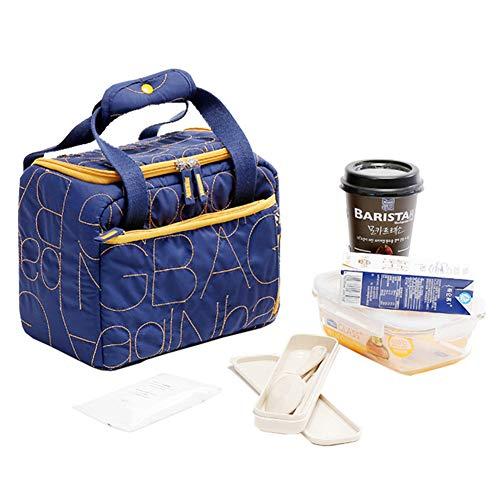 Isolierte Lunch Bag Portable Picknick-Boxen KüHltasche Travel Organizer Wasserdicht