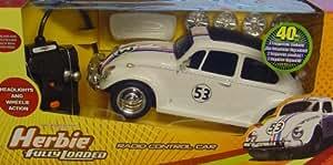 Disney S Herbie The Love Bug Radio Control Car Working