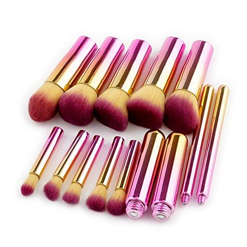 yunnuo Promi 10 feuilles Auge Ombre Pinceaux Fondation Maquillage cacher Nez Beauté comestic Tool