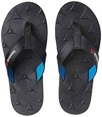 Reebok Men's Gradient Flip Iii Coal and Farout Blue Flip-Flops and House Slippers - 10 UK/India (44.5 EU) (11 US) (BS6631)