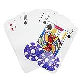 XXL Pokerset mit 108 Pokerchips - Riesen Poker Set