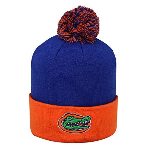 (Top of the World NCAA Pom Cuffed Knit Zwei Ton Beanie Weihnachtsstrumpf Hat, Florida Gators, Einheitsgröße)