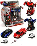#8: Jiada TransWarrior Robot To Car Converting Transformer Toy For Kids | Colour and Design May Vary