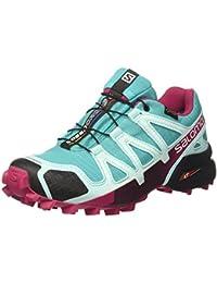 Salomon Femme Speedcross 4 GTX Chaussures de Course à Pied et Trail running, Synthétique/Textile