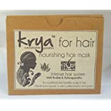 Krya Intense Nourishing Herbal Hair Mask – With 22 Rich Ayurvedic Herbs & Cold Pressed Oils To Promote Hair Growth...