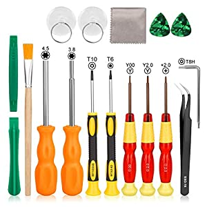 Schraubendreher für Nintendo, Keten Tri Wing Professionelles Voll Werkzeug Set für Nintendo New 3DS und Nintendo Wii /NES/SNES /DS Lite /GBA/Gamecube, Sicherheits Schraubendreher Gaming Bit Set