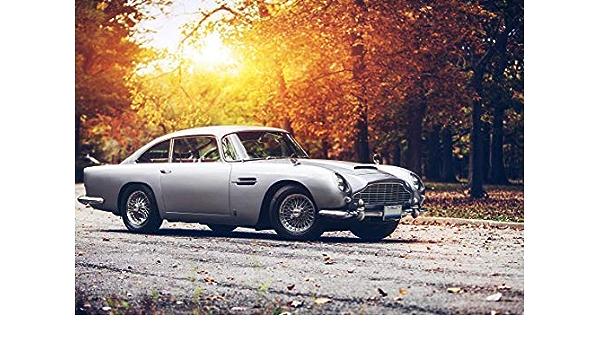 Generic Aston Martin Db5 James Bond Vintage Car Poster 10107 A3 A4 A5 A3 Amazon De Küche Haushalt