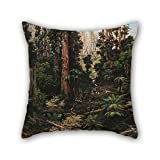 Slimmingpiggy Cushion Covers Of Oil Painting Isaac Whitehead - In The Sassafras Valley