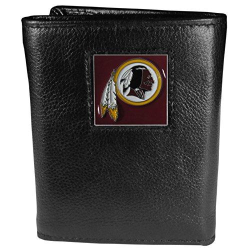 Siskiyou Gifts Co, Inc. NFL Herren Geldbörse Leder dreifach gefaltet, Herren, Washington Redskins, One Size Fits All