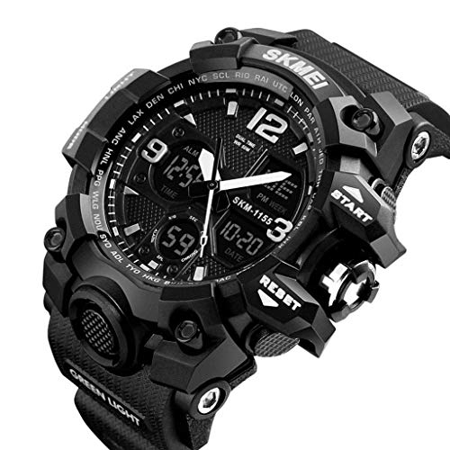JBP Max Mens Sport Waterproof Watch Multi-Funktion Digital Watch Men Es Wasserdichte Elektronische Uhr Multi-Funktion Outdoor-Sport-Uhr Electronic Watch-2,D