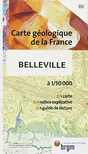 Carte géologique : Belleville